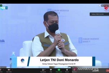 Disiplin kunci putus mata rantai penyebaran virus, kata Doni Monardo