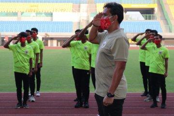 Pelatih Bima Sakti puas dengan performa tiga pemain baru timnas U-16