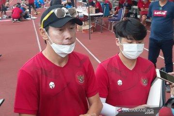 Shin Tae-yong akui sulit rotasi kiper Timnas U-19, ini alasannya