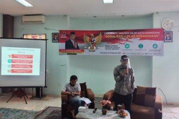 Imam Budi Hartono sosialisasikan empat pilar pertama DPRD Jabar