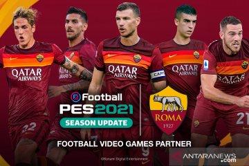 Kerja Sama Bareng As Roma Konami Pastikan Pes 2021 Rilis September Antara News