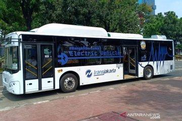 DKI targetkan 2030 seluruh armada bus Transjakarta gunakan bus listrik