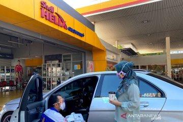 Shell beri layanan disinfeksi mobil dan 10 ribu masker