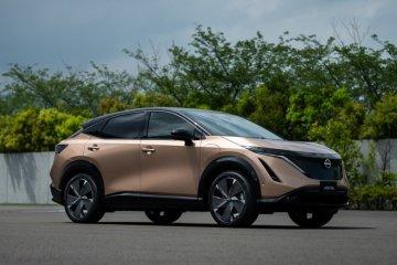 """""""Crossover"""" listrik Nissan Ariya debut untuk China bulan ini"""