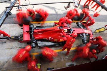 Ferrari gunakan livery spesial untuk rayakan GP ke-1000 di Mugello