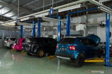 Kinerja bengkel body repair Suzuki justru naik saat pandemi