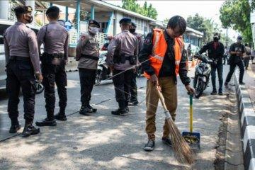 Ribuan pelanggaran PSBB Jakarta