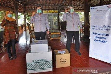 ASTRA Tol Tanggerang-Merak Salurkan Bantuan Ventilator Kepada Gubernur Banten