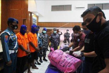 Kasus penyelundupan 10,7 Kg sabu-sabu dari Malaysia