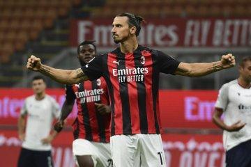AC Milan awali musim dengan kemenangan 2-0 atas Bologna