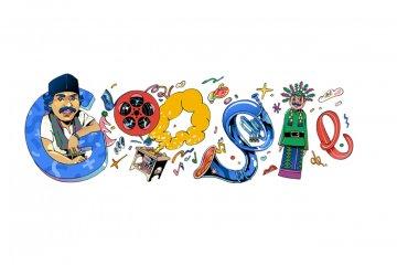 Google menampilkan Doodle bertema Benyamin Sueb