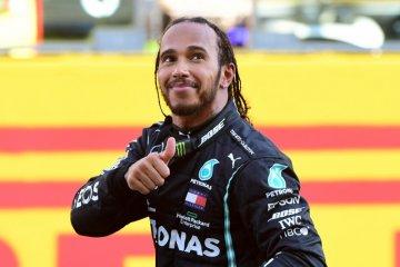 Lewis Hamilton berpeluang samai rekor Schumacher di GP Rusia