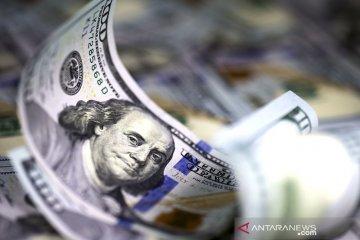 Dolar AS jatuh dari tertingginya dua bulan akibat tertekan kenaikan ekuitas
