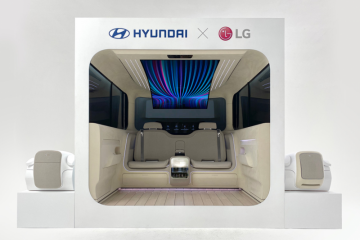 Hyundai ungkap konsep kabin IONIQ bersama dengan LG