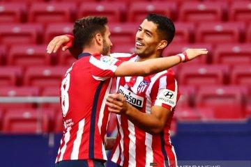 Atletico gasak Granada 6-1, debut Suarez sumbang dua gol