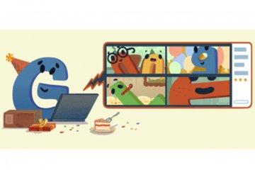 Google rayakan ulang tahun ke-22 lewat Google Doodle
