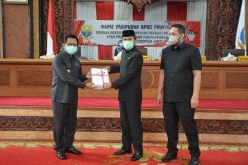 DPRD terima nota pengantar KUA-PPAS APBD Provinsi Jambi 2021