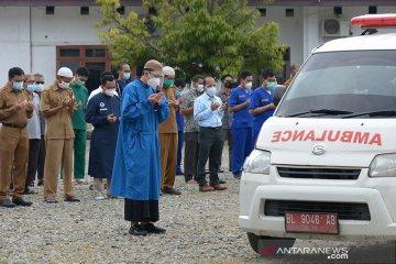 Pelepasan terakhir jenazah dokter positif COVID-19
