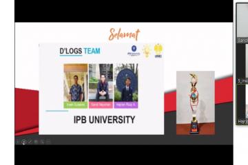 Mahasiswa IPB raih juara di kompetisi festival ilmiah