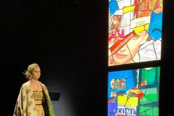 Kain Endek asal Bali warnai koleksi Christian Dior 2021
