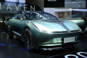 Weltmeister pajang mobil konsep Sleek Maven di Beijing Auto Show