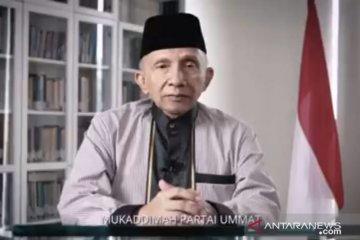 Amien Rais umumkan pendirian partai baru bernama Partai Ummat