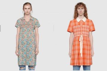 Gucci jual gaun tartan untuk pria seharga Rp38,6 juta