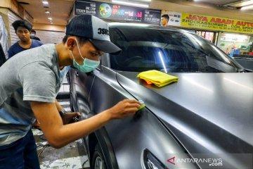 Gunakan coating khusus untuk mobil dengan wrapping sticker