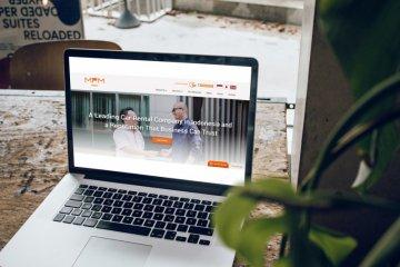 MPMRent segarkan website tampilkan empat pilihan armada