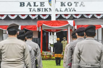 Upacara HUT ke-19 Kota Tasikmalaya