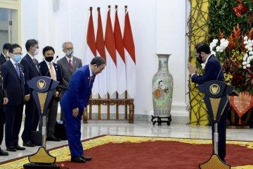Jokowi sambut baik relokasi dan perluasan perusahaan Jepang ke Indonesia