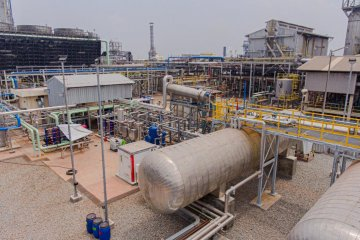 Rekind tuntaskan pengerjaan proyek pabrik CO2 cair Pupuk Kujang Cikampek