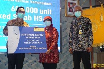UI serahkan 600 ribu Flocked Swab HS-19 ke RS di DKI dan Jabar