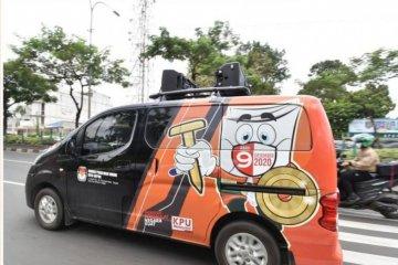 "KPU Kota Depok gunakan mobil ""wowo-woro"" sosialisasikan pilkada"