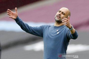 Pep Guardiola catatkan awal musim terburuk dalam karier kepelatihannya
