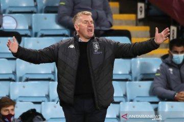 Manajer Aston Villa sebut timnya cuma bisa imbangi Leeds 50 menit