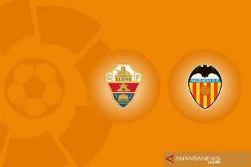 Valencia bertekuk lutut 1-2 di markas tim promosi Elche