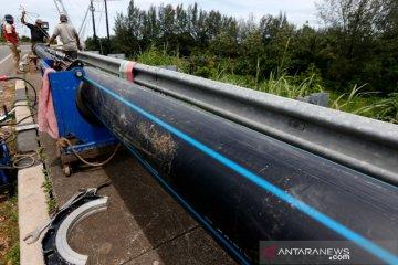 Target penyaluran air bersih