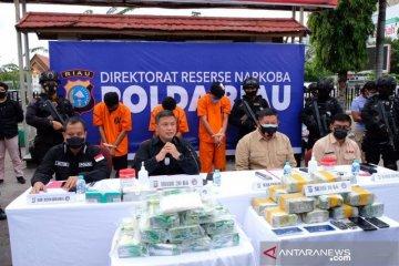 Oknum Perwira Polisi ditangkap bawa sabu 16 kg