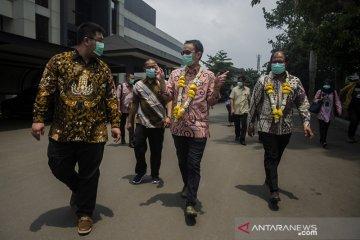 Kunjungan Wamendag ke pabrik Masker Cimahi
