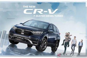 New Honda CR-V dengan fitur Honda Sensing hadir di Filipina