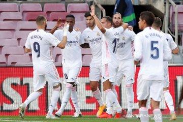 Klasemen sementara Liga Spanyol Real Madrid kembali ke puncak