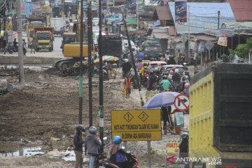 Pelebaran Jalan di Kawasan Masjid Jami