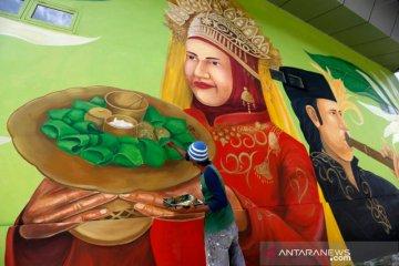 Mural Seni Budaya Taman Bustanussalatin