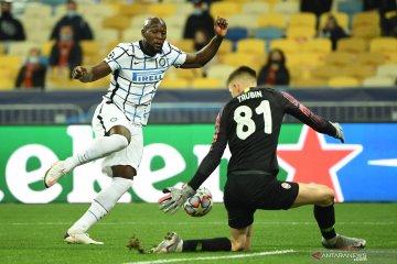 Shakhtar Donetsk tahan imbang Inter Milan
