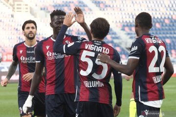 Bologna dan Sampdoria, mencatatkan kemenangan di Piala Italia