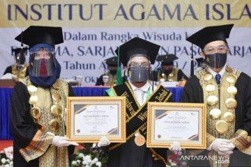 IAI Tazkia Bogor gelar wisuda ke-16, wisudawan kenakan APD