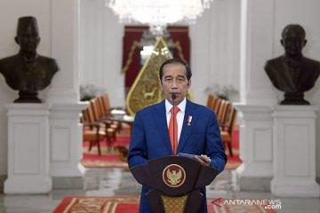 Presiden Jokowi sebut keuangan syariah RI seperti raksasa sedang tidur