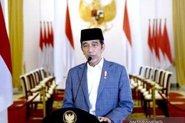 Presiden Jokowi ajak umat Islam meneladani akhlak terbaik Rasulullah