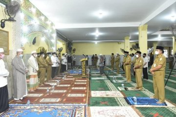 Peringatan Maulid Nabi Muhammad SAW  di Jambi dengan protokol kesehatan COVID-19